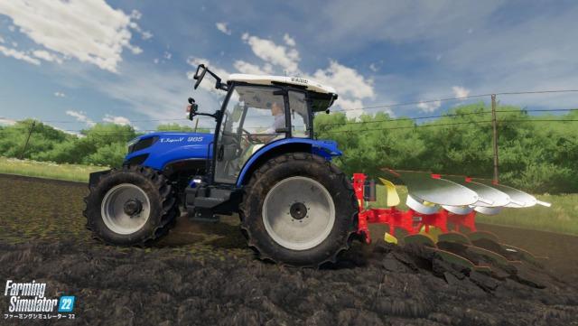 井関農機のTJV985がゲームに ファーミングシミュレーター22