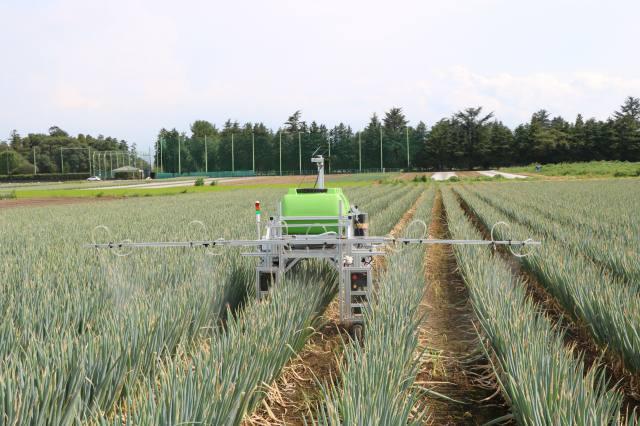 深谷市から資金調達 自動農薬散布ロボットで ~レグミン~