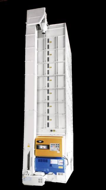 大型遠赤乾燥機RX 高い基本性能・生産性 耐久性・メンテ性も向上 ~大島農機~