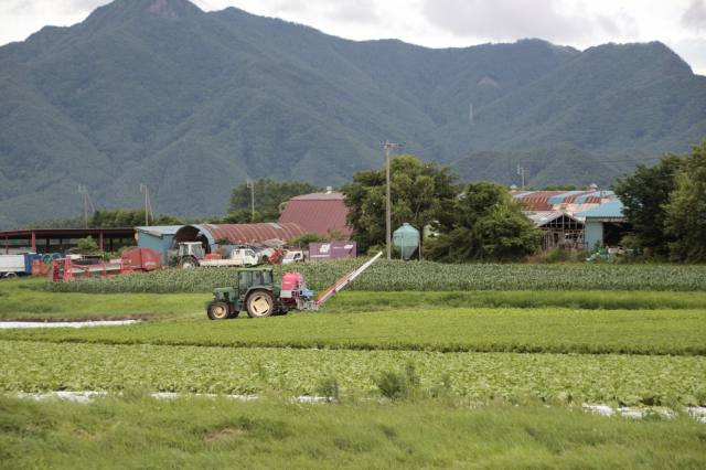 主要指標に見る長野県農業