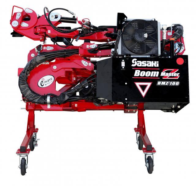 ブームマスターZ発売 第一弾は草刈り機 アタッチ付替えで多様途に ~ササキコーポレーション~